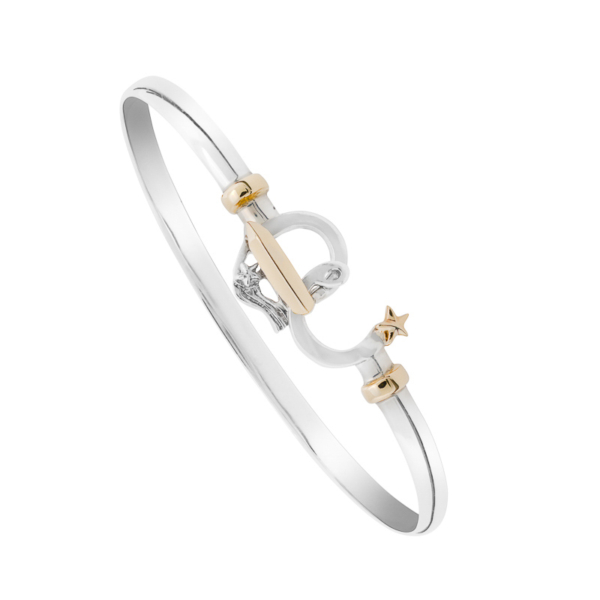 Photo shows a bangle bracelet photographed on white.