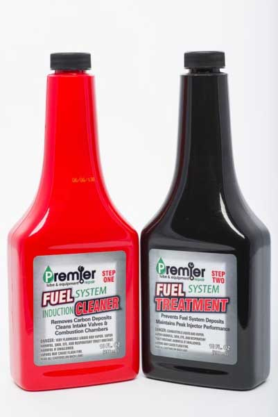 Photo shows two fuel related product photographed for online retailer.