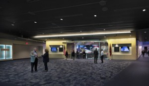 Medal of Honor Theater with banner