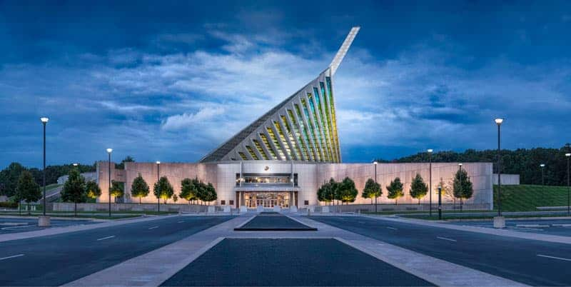 Dawn at the National Museum of the Marine Corps by Mark Gilvey