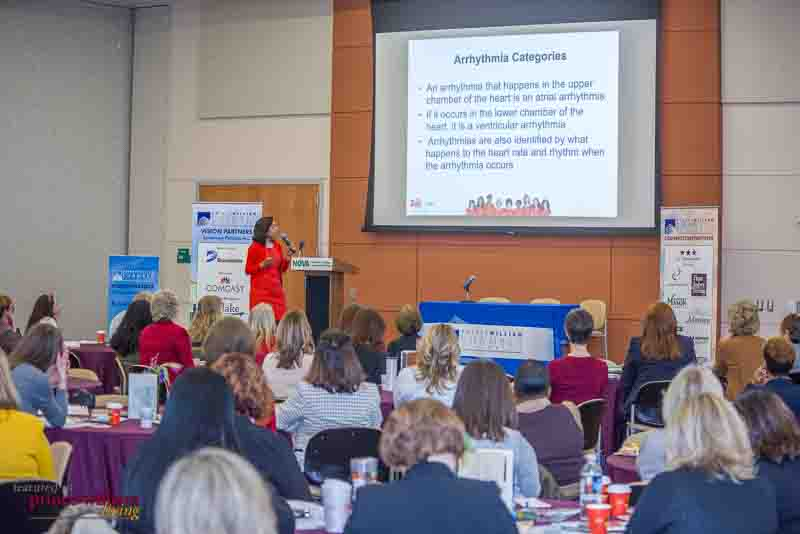 Event photography of the 2016 Women's Leadership Luncheon