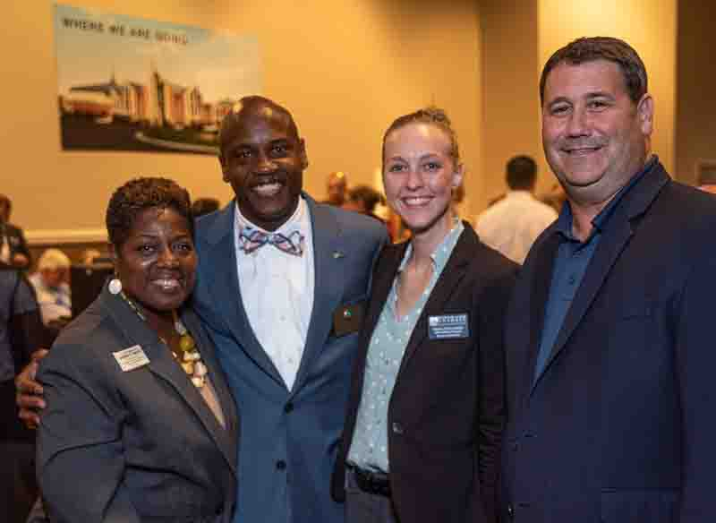 Large event photography of the 2015 State of Prince William held at Hylton Performing Arts Center