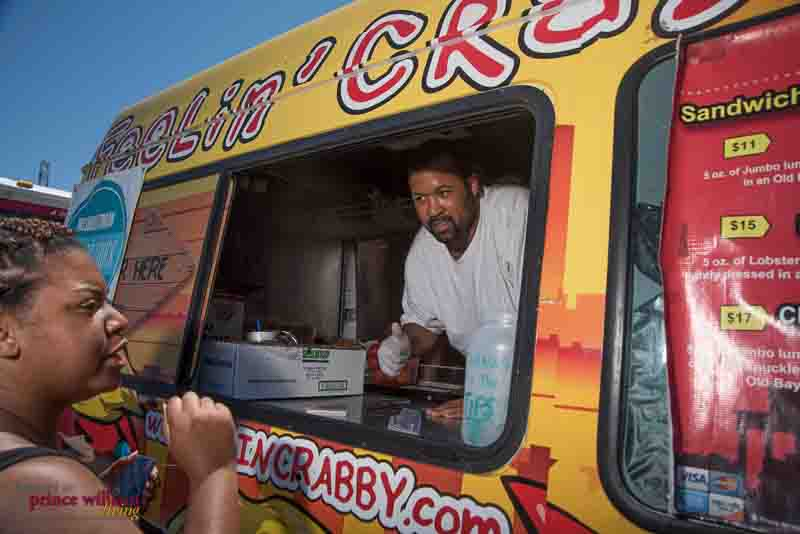 Local event photography at the 2015 Woodbridge Food Truck Festival