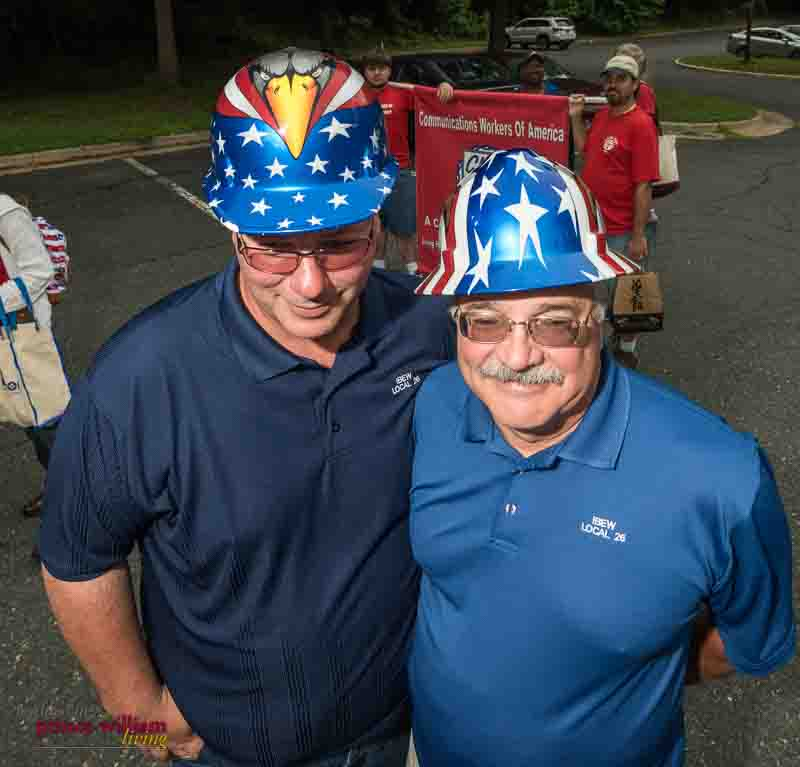 Community event photography at the Dale City 4th of July Parade