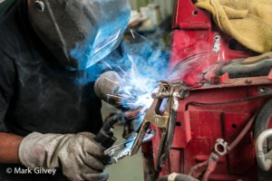 Professional Collision – Welding