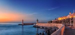 Sunrise at Old Port
