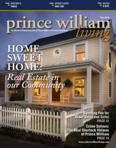 2015 Prince William Living May Cover
