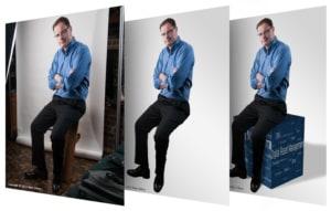 Three Step Photo Illustration Process